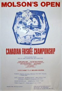 Canadian Open Frisbee Championships 1975