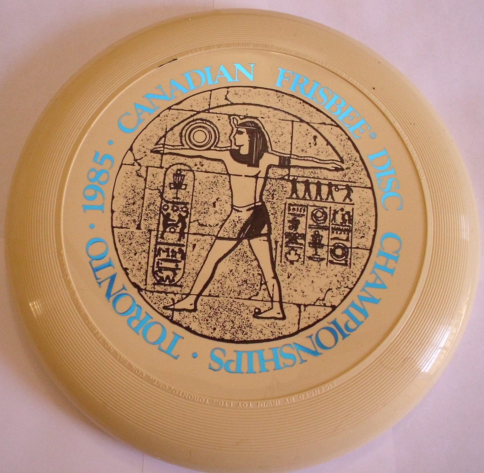 History Appendix 1 The Development Of Early Frisbee And